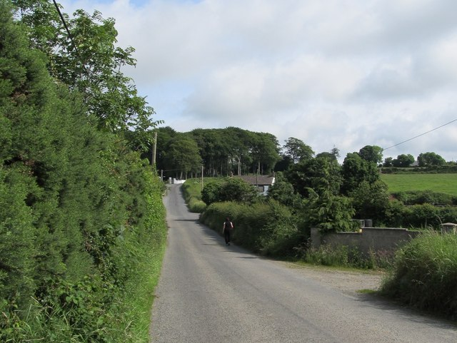 Road northwards towards Mc Dermott's Corner