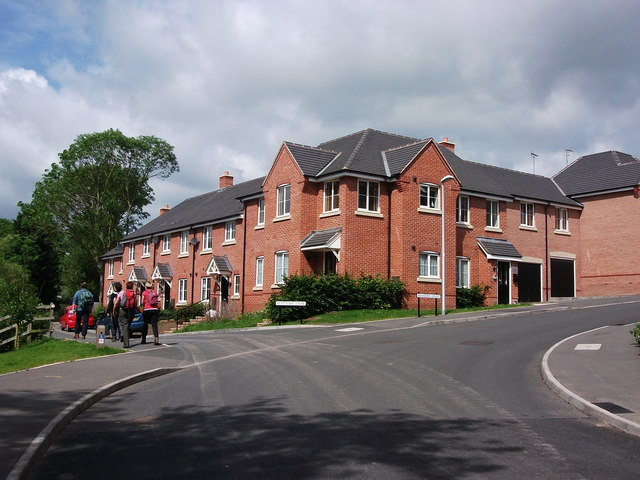 New housing, Manders Croft /Wattons Lane, Southam