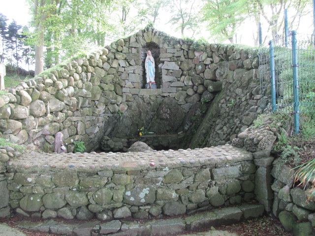 Marian Grotto at the St Brigid's Shrine, Faughart Upper
