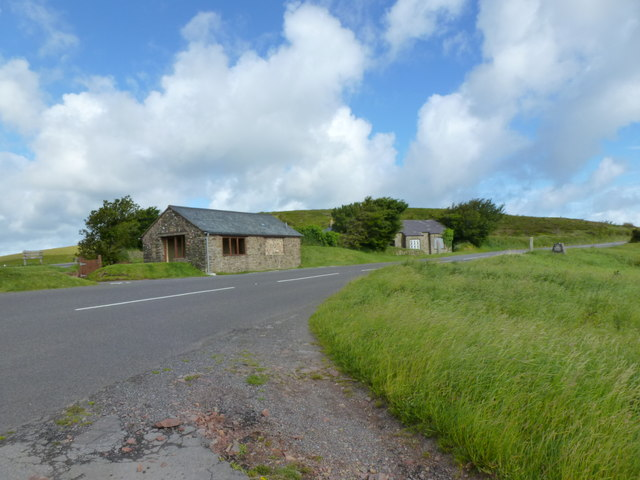 Buildings at County Gate, Exmoor