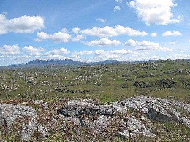 Moorland in Assynt