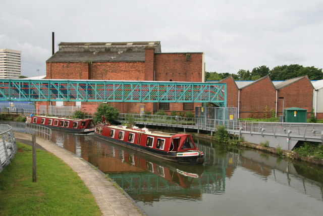 Coventry Canal, Coventry
