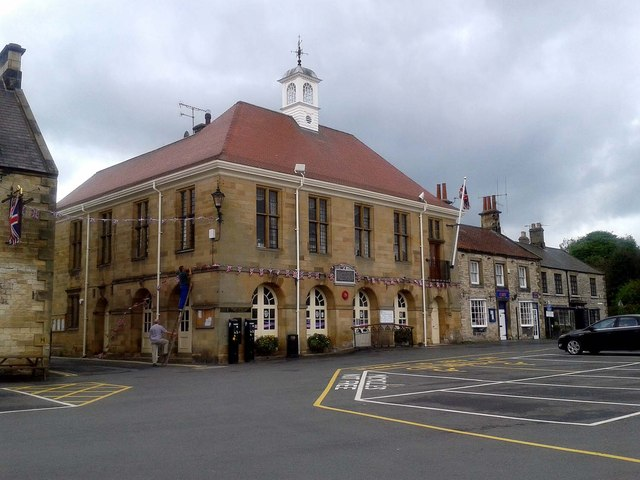 The Town Hall and Library
