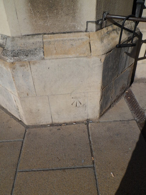 Benchmark at Christ's College, Cambridge