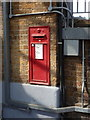 TQ3875 : Lewisham: the station postbox is back in use by Chris Downer