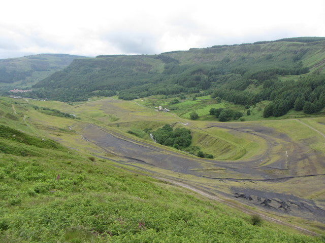 Site of Fernhill and Blaenrhondda collieries