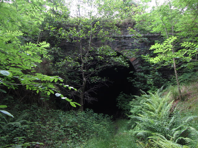 Gelli tunnel - west portal