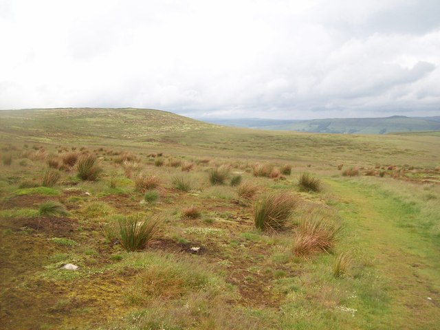 Footpath Crossing Abney Moor