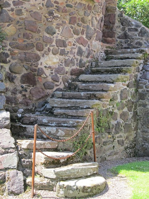Kiln steps, Preston Mill
