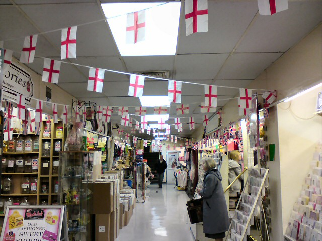 Flags out for England