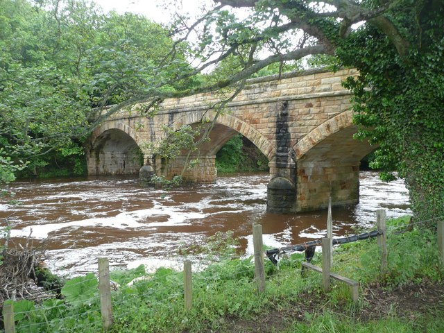Factory Bridge over River Coquet
