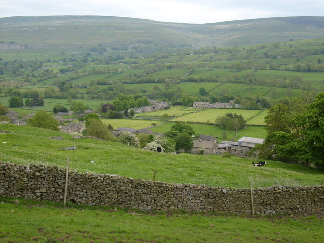 Bishopdale near Thoralby
