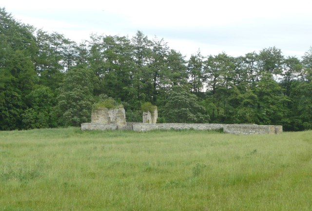 Remains of Chapel at Brainshaugh