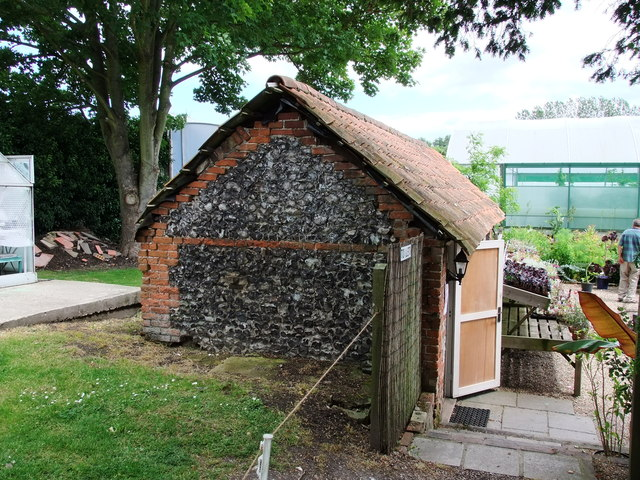 Potting Shed, World Garden, Lullingstone Castle