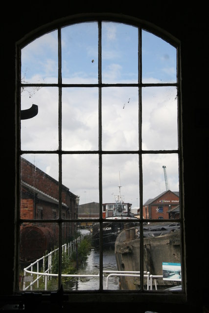 Window on the world - National Waterways Museum, Ellesmere Port
