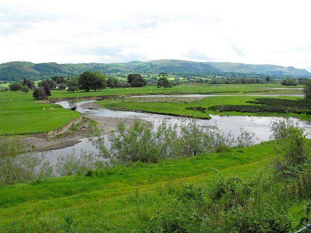 Meandering River Severn