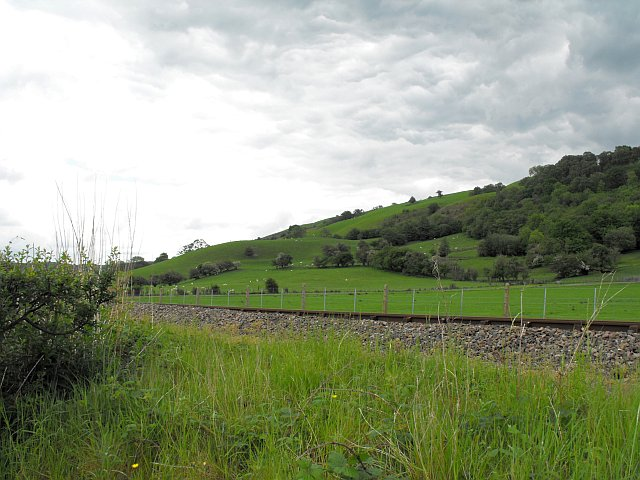Northern slopes of Cefn Lladron