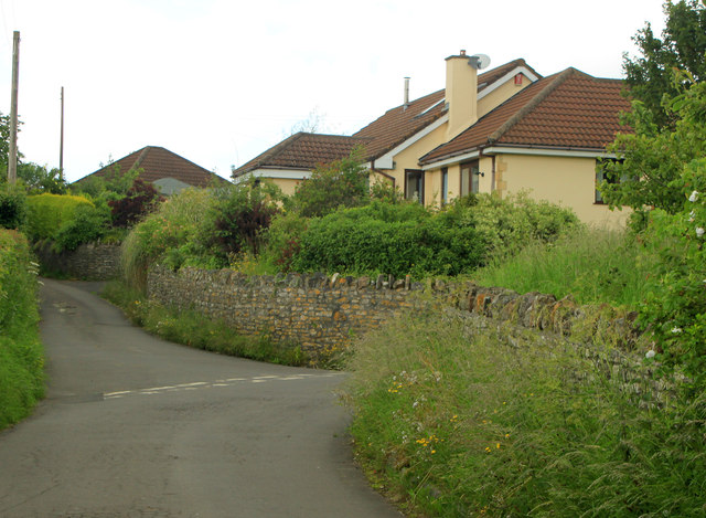 2012 : Eastern end of Back Lane near Greendown