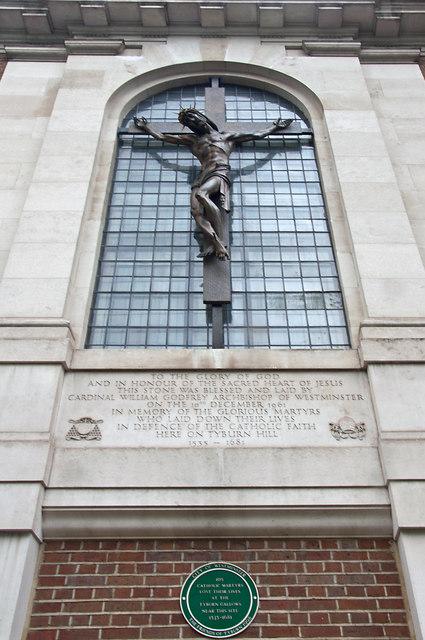Window And Crucifix Tyburn Convent 169 Mick Lobb Cc By Sa