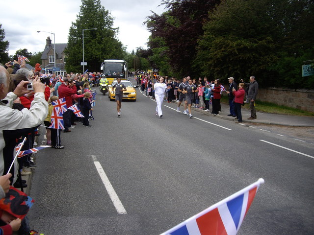 'London 2012' Olympic Torch relay