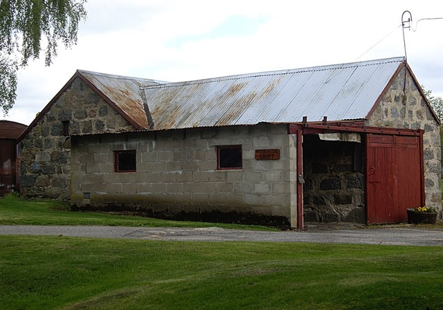 Woodside Croft outbuilding