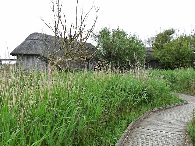 Bird hides, Cley Marshes Nature Reserve