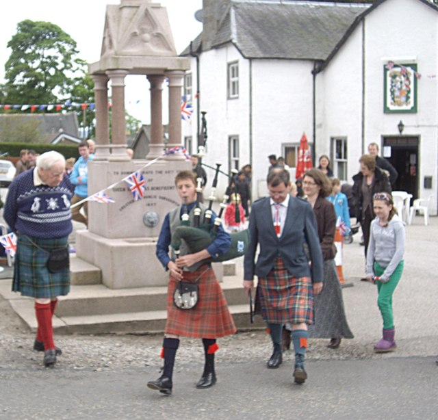 Jubilee Day 2012 in Torphins