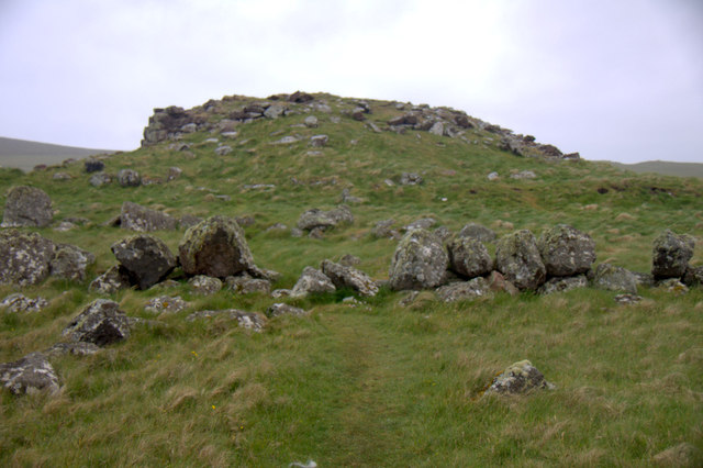 Broch at Loch of Houlland, Eshaness
