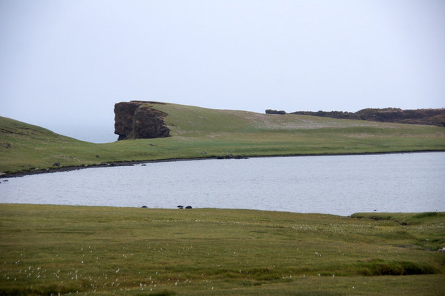 The north loch of Dridgeo, Eshaness
