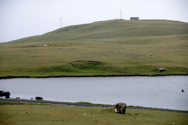 East end of the Loch of Framgord, Eshaness