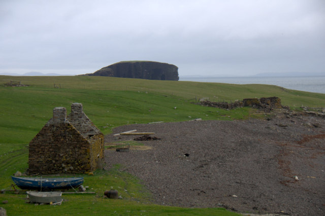 Old haaf station at Stenness