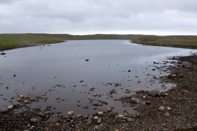 Muckla Water, Eshaness