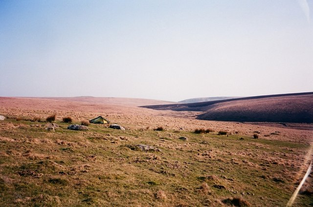 Wild camp on Green Hill