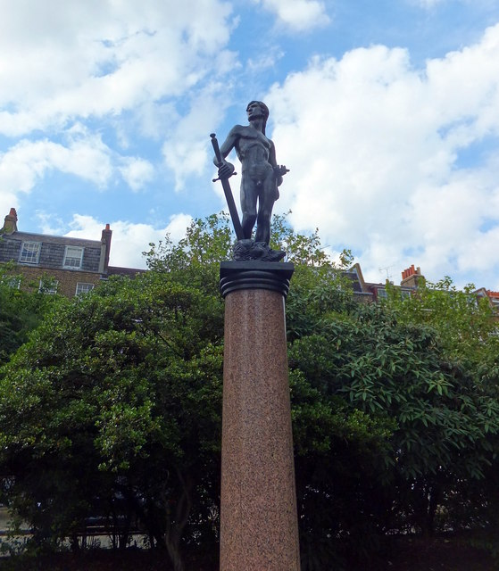 The Boy David Statue, Chelsea Embankment Gardens