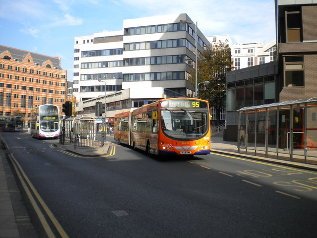 Infirmary Street bus point