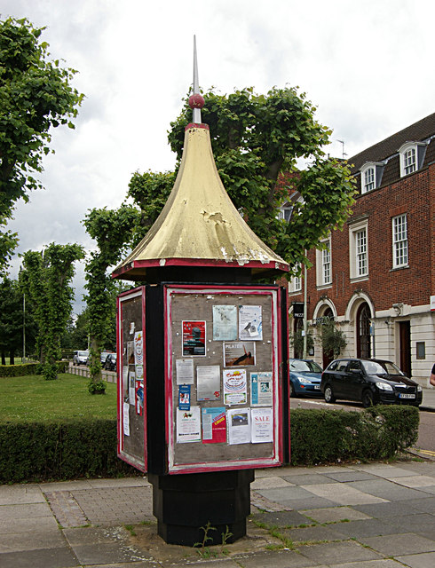 Information point, Welwyn Garden City
