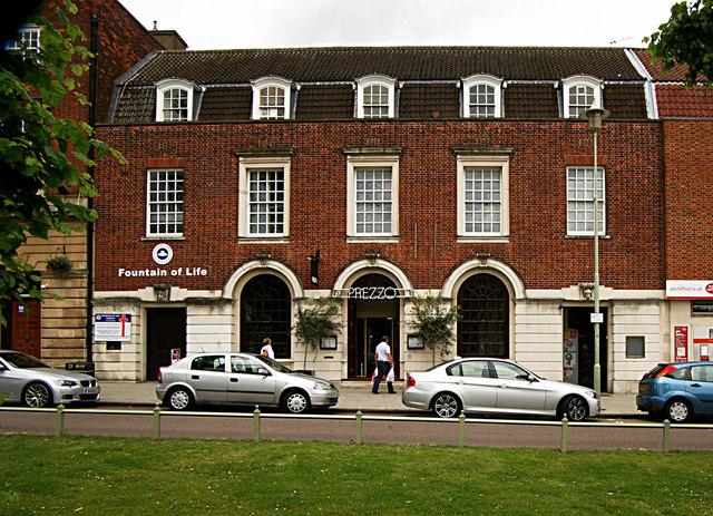 Former Post Office Welwyn Garden City Julian Osley