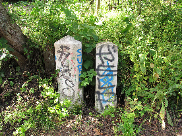 Parish boundary stones
