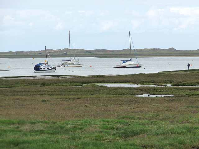 Boats in Blakeney Harbour