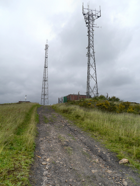 Radio Transmitters on Crow Knowl