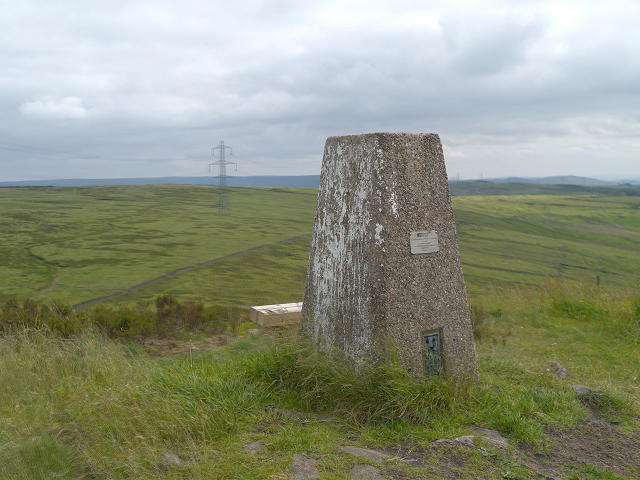 Trig Pillar on Crow Knowl