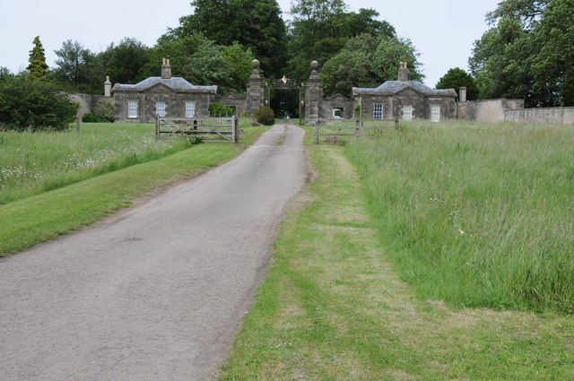 Entrance to Sherborne Park