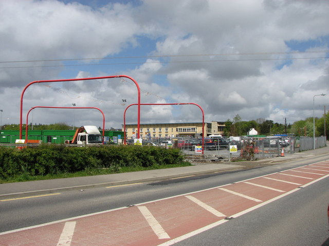 Works entrance, Stranorlar