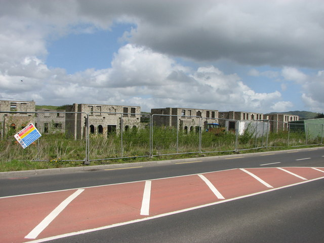 Half finished houses, Stranorlar