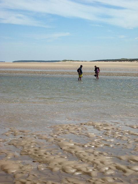 Scolt Head Island Traverse 1: Crossing the Burn