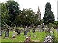 SK1854 : St. Peter's Church graveyard by Graham Hogg