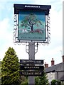 SK1854 : Sycamore Inn pub sign by Graham Hogg