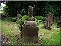 SD6523 : Monument in a churchyard by Philip Platt
