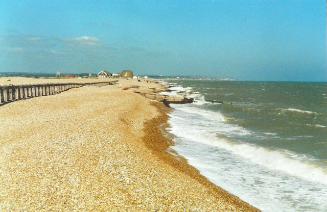 The beach at Norman's Bay in 1997