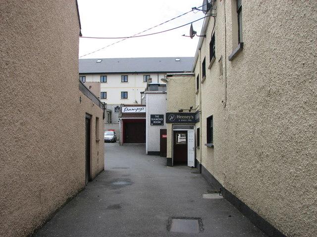 Alleyway off Navenny Street